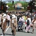 GoToトラベルで混雑する大阪は過去最多を更新(写真:時事通信)