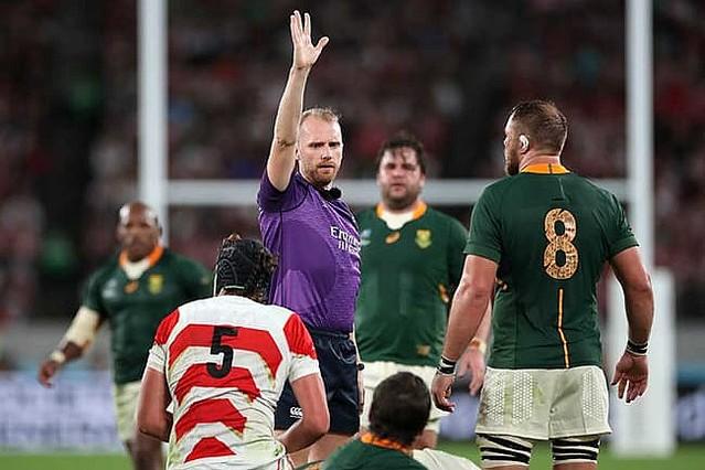 【ラグビーW杯】南アフリカ国内から英国人主審に不満噴出 南アファン「大会全体で最悪の仕事だ」