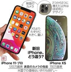 新旧iPhone、どう違う?