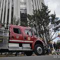 消防車。コロンビア・ボゴタで(2019年10月2日撮影、資料写真)。(c)Juan BARRETO / AFP