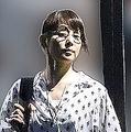 食事を楽しんだ石田ゆり子の姿をキャッチ