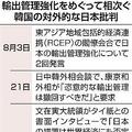 2国間の問題持ち込むべきでない APECでチリ外交官が韓国側へ注意