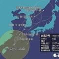 台風5号 西日本などで大雨警戒