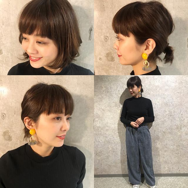 オフィス カジュアル 髪型