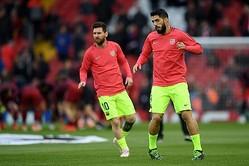 バルセロナに朗報…スアレス&メッシがバレンシア戦で復帰の可能性