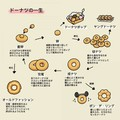 「ドーナツの一生」を描いたイラストが話題 「メスは穴から卵を生む」