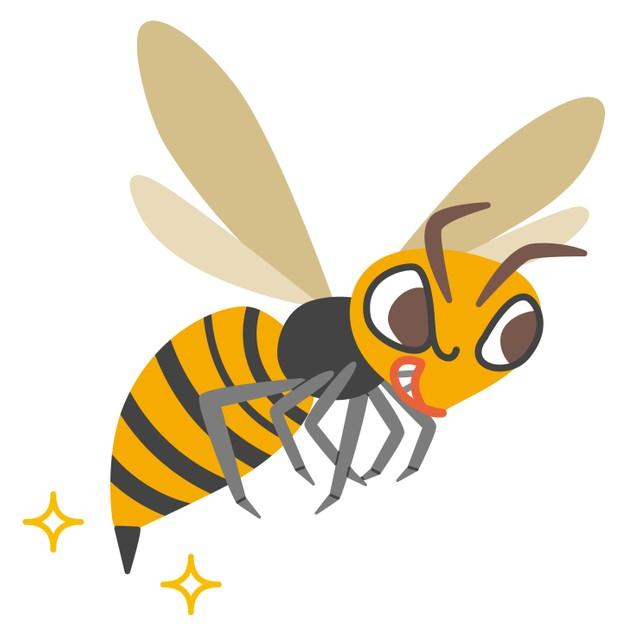 [画像] スズメバチに刺されたらどうする?…15分くらいで息苦しさや動悸を感じたらすぐ救急車を