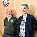 左から、サムソン高橋さんと能町みね子さん(2019年の対談時 写真/山田耕司)