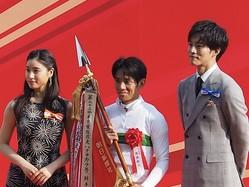 【日本ダービー】松坂桃李さんがプレゼンターとして登壇 馬券はダノンキングリーから勝負