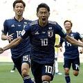 グループリーグ初戦コロンビア戦で2-1と勝利し、アジア勢としてはW杯で初めて南米勢を撃破【写真:Getty Images】