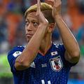 日本代表のグループリーグ突破に貢献したMF本田圭佑