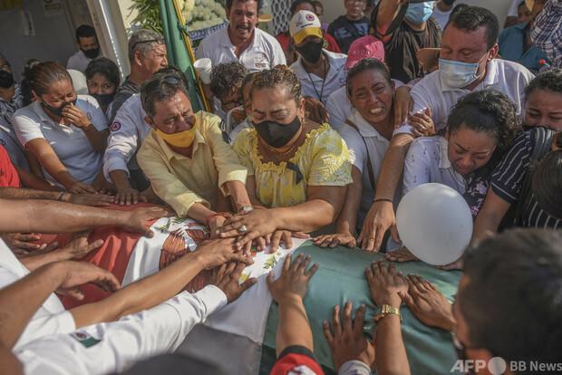 [画像] 半年間に政治家64人殺害、6月総選挙控えるメキシコ