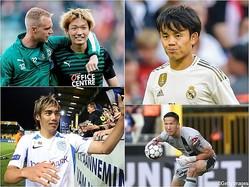 2019年に入ってから海を渡った日本代表選手たち