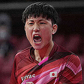流血の張本 日本五輪最年少V更新