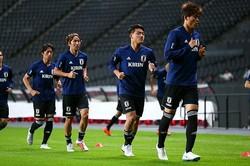 日本代表、チリ代表ともに前日の公式練習は中止となった。写真:山崎賢人(サッカーダイジェスト写真部)