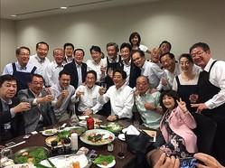 赤坂自民亭は物議を醸した(西村官房副長官のツイッターより。現在は削除済み)