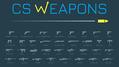 FPSゲーム「CS:GO」に登場する銃の性能を徹底的に比較できるサイト「CS Weapons」が登場