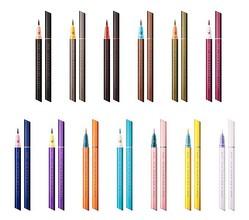 フローフシの新ブランド「ウズ(UZU)」デビュー、全14色のリキッドアイライナー発売