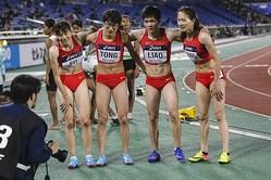 中国の陸上競技大会に出場した女子選手2人が話題 「女性に見えない ...