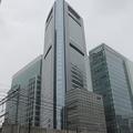 共同通信本社ビルの「汐留メディアタワー」