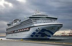 約1か月もの間、乗客は船内に足止めされた(ダイヤモンド・プリンセス号。AFP=時事)