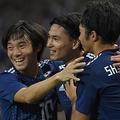 日本代表6点でモンゴルを粉砕 長友佑都は10年ぶりの代表得点