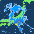MSM雨の予想