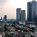 ジャカルタの街並
