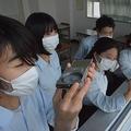 毎日、校舎から空の観測を続ける自然探究部員たち(草津市野路町・光泉カトリック高)