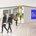 ソウル・タイムスクエアに昨年オープンした「GU」3号店のイメージ図(同社提供)=(聯合ニュース)≪転載・転用禁止≫