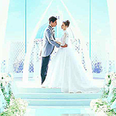 ウエディングプラン登場 FF14が神戸の結婚式場「デゼーロ」と
