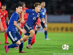 2点に絡んだ日本代表MF堂安律(PSV)