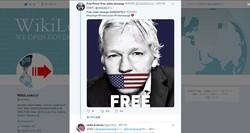 ウィキリークスのツイッターでは、アサンジ氏逮捕を懸念する書き込みが殺到している