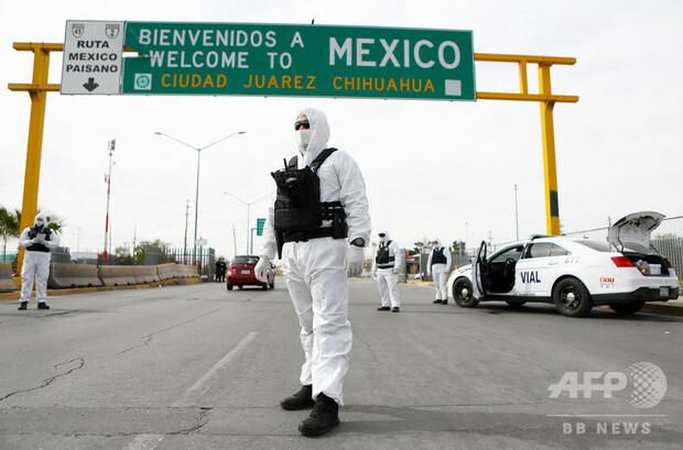 [画像] 新型コロナ恐れた移民らが暴動、1人死亡 メキシコの収容施設