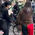 華原への暴行で逮捕 現場写真