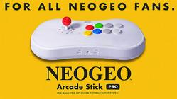 SNKが「NEOGEO Arcade Stick Pro」を2019年秋発売!現在予約受付中!