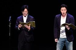 『半沢直樹』朗読劇でも顔芸披露 スパイラル買収失敗後の物語を描く