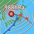 8日は「春の嵐」に…低気圧猛発達で全国的に暴風が吹き荒れる
