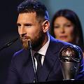 FIFA年間最優秀選手賞を受賞したFWリオネル・メッシ