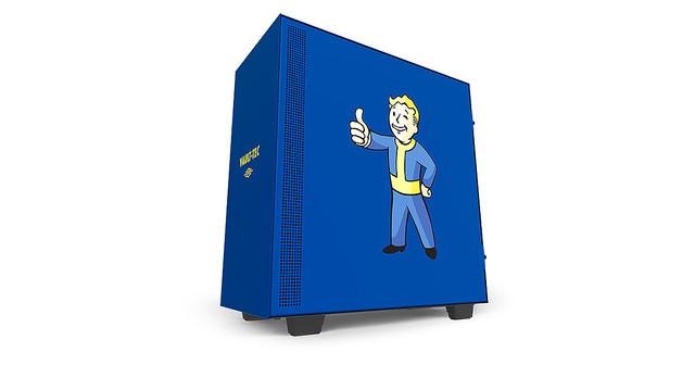 64dbcb7108 NZXT、FalloutコラボのPCケースとマザーボード用カバー - ライブドアニュース