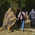 スーダンの首都ハルツームの女性たち(2020年5月5日撮影)。(c)ASHRAF SHAZLY / AFP