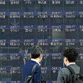 株価が消えた株価ボード