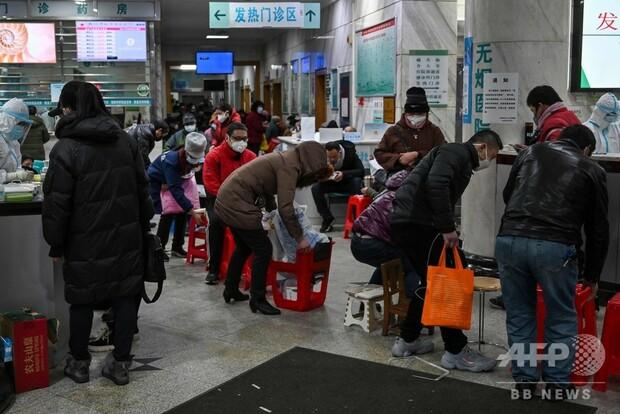 [画像] 中国新型ウイルスの死者56人に、診察に2日間待ちも 習主席「深刻な状況」