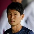 金明輝監督は初陣となったG大阪戦で白星を飾った。写真:徳原隆元