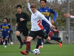神戸は沖縄SVに3-0で快勝。酒井などの主力も途中出場している。写真:松尾祐希