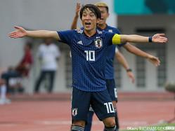 U-21日本代表MF三好康児(札幌)