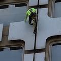「仏のスパイダーマン」が命綱なしでビルの36階へ 無事に地上に戻り逮捕