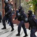 ロシアの警察官ら(2019年10月15日撮影、資料写真)。(c)Dimitar DILKOFF / AFP