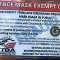 20200731FaceMaskExemptCard_fake_DOJ