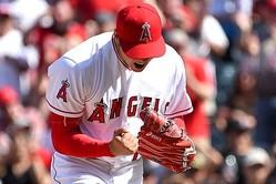 本拠地初先発で圧巻の投球を披露したエンゼルス・大谷翔平【写真:Getty Images】